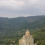 Una chiesa nei dintorni di Cortona