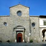 Esterno del Duomo di Cortona