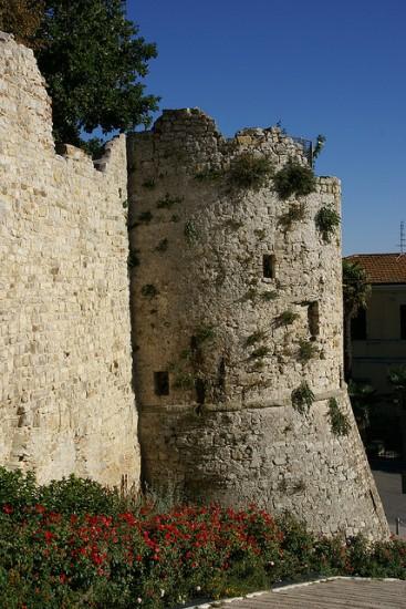 Antiche mura difensive a Cortona
