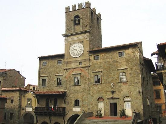 Immagine del Palazzo Comunale di Cortona