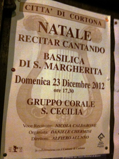 Concerto di Natale presso la Basilica di Santa Margherita