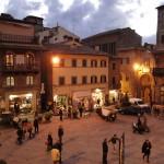 Piazza della Repubblica fulcro di Cortona