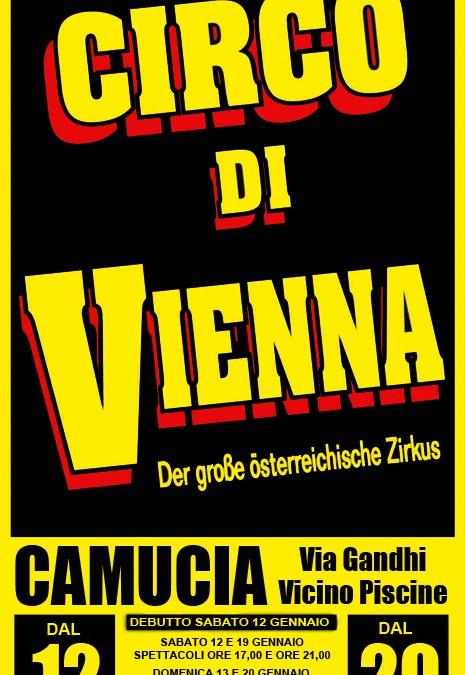 Il Circo di Vienna a Camucia fino al 20 gennaio