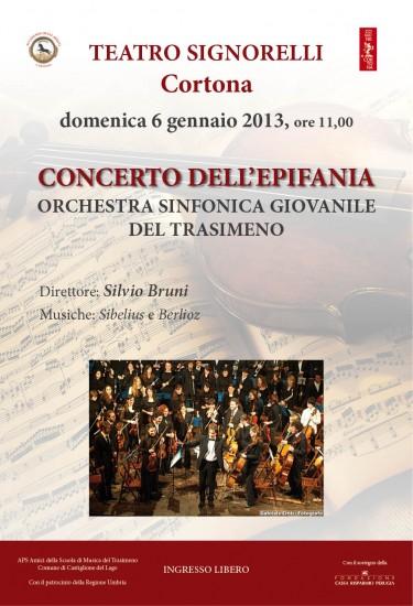 Concerto dell'Epifania al Teatro Signorelli