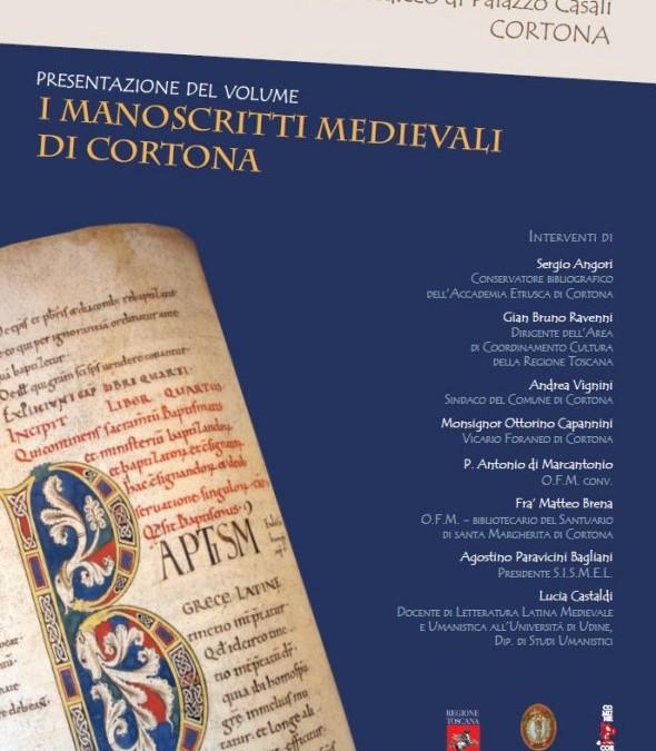 Presentazione dei manoscritti medievali di Cortona