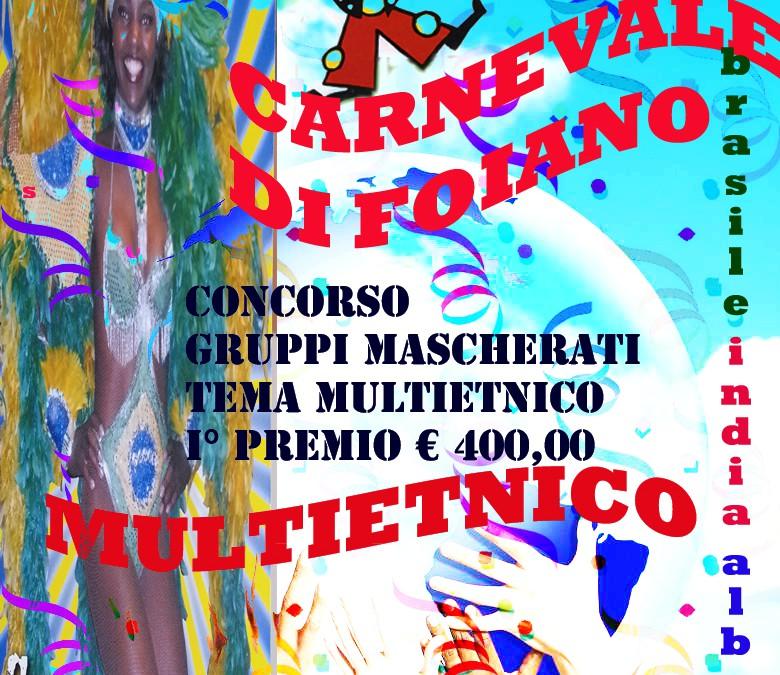 Nuovo weekend con il Carnevale di Foiano 2013