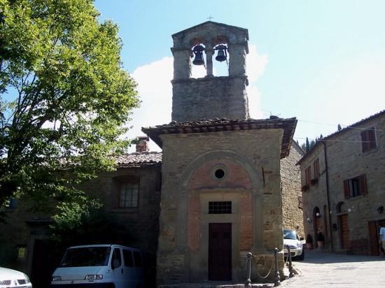 Chiesa di San Cristoforo nel centro di Cortona