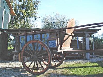Carro del Museo della Civiltà Contadina