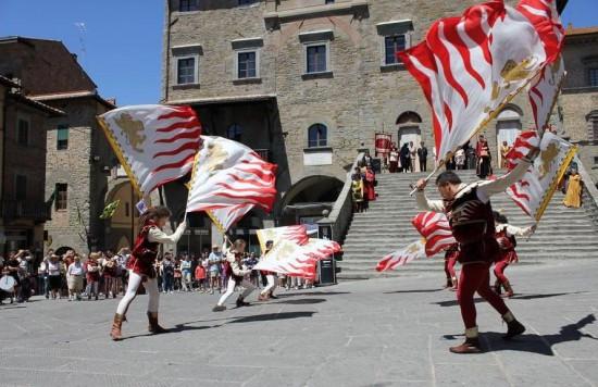 Sbandieratori di Cortona