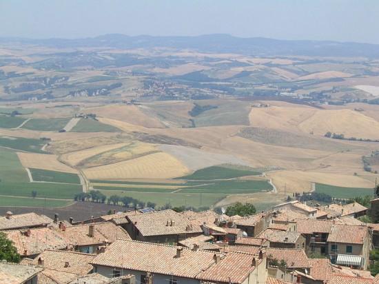 Foto panoramica della Valdichiana