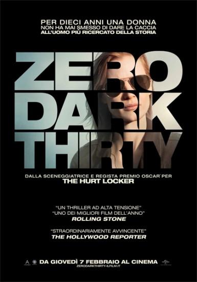 Zero Dark Thirty al Teatro Signorelli