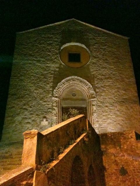 Restauro del tetto della Chiesa di San Francesco