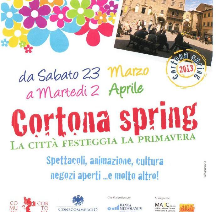 Cortona Spring 2013, la città festeggia la primavera