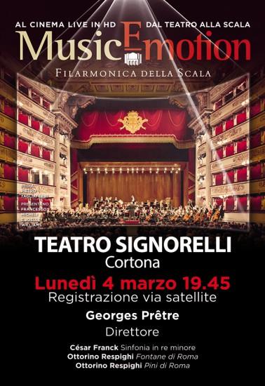 Concerto live al Teatro Signorelli