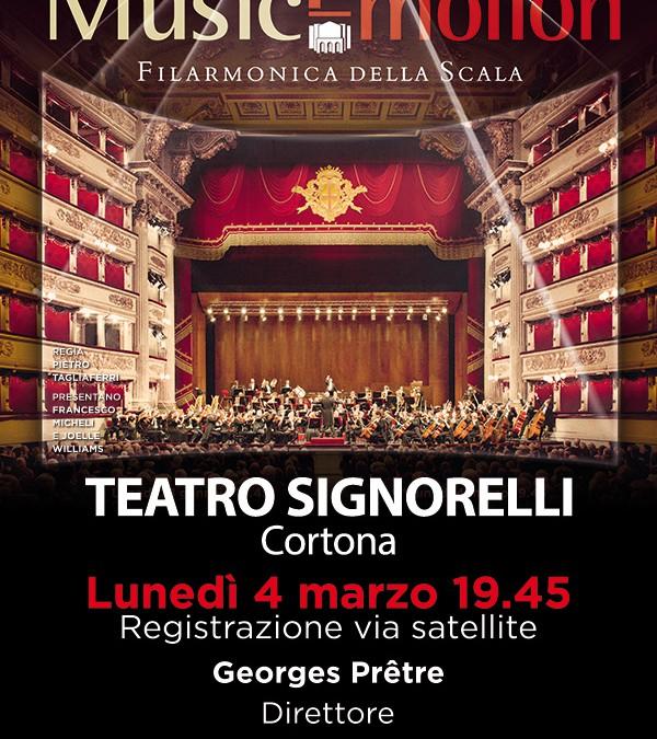 Concerto della Scala in diretta al Teatro Signorelli