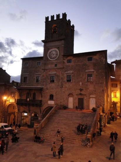 Facciata del Palazzo Comunale di Cortona