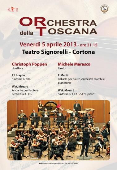 Locandina dell'Orchestra della Toscana