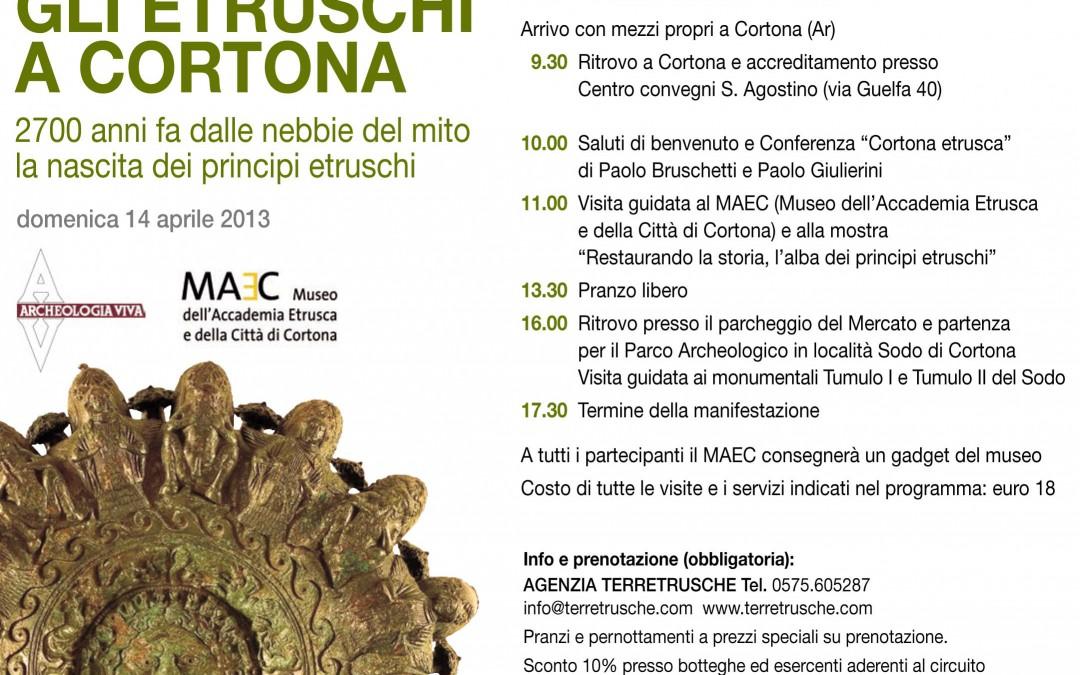 """""""Gli Etruschi a Cortona"""", giornata di studio al MAEC"""