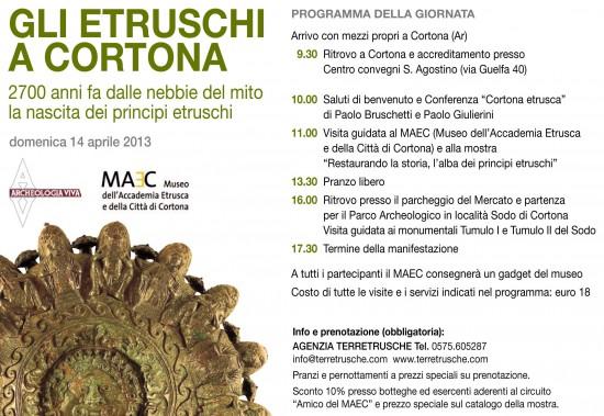 Giornata di studio Gli Etruschi a Cortona