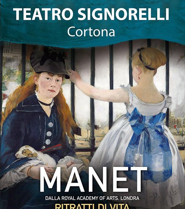"""""""Manet – Ritratti di vita"""" al Teatro Signorelli"""