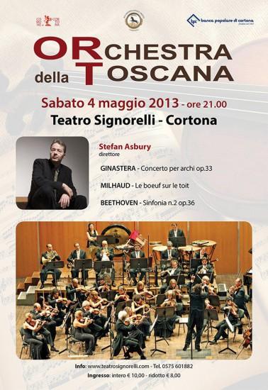 L'Orchestra della Toscana di nuovo a Cortona