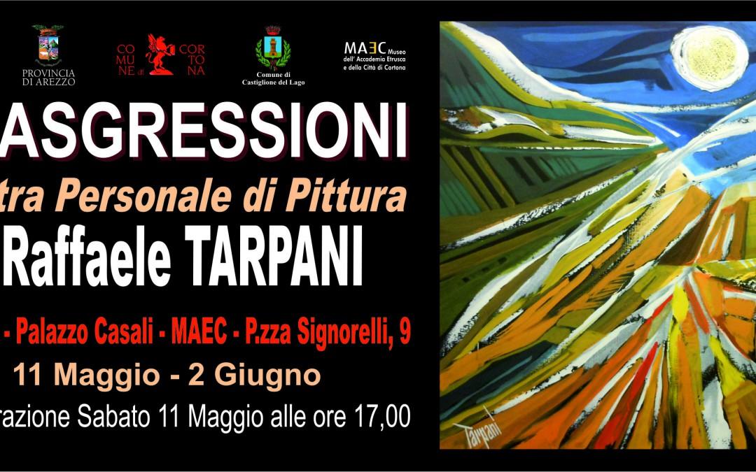 "Mostra ""Trasgressioni"" di Raffaele Tarpani a Palazzo Casali"