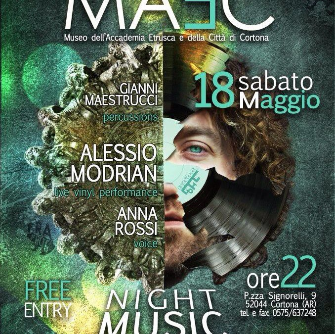 Night Music Museum al MAEC di Cortona
