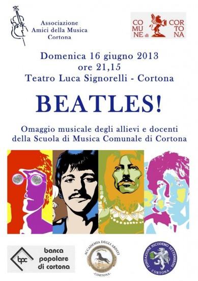 Il concerto sui Beatles al Teatro Signorelli