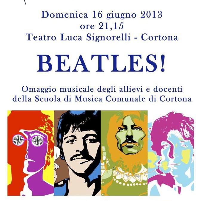 Concerto in onore dei Beatles al Teatro Signorelli