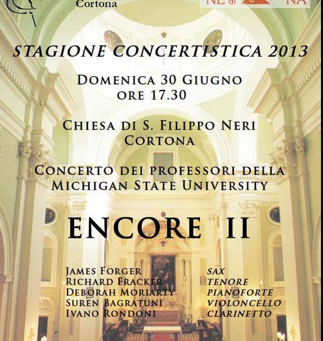 """Concerto """"Encore II"""" alla Chiesa di San Filippo Neri"""