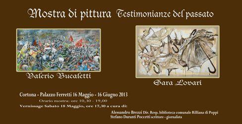"""Mostra di pittura """"Testimonianze del passato"""" a Palazzo Ferretti"""