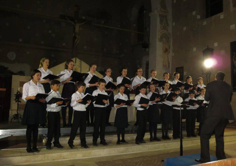 """On-Key Music""all'Auditorium Sant'Agostino di Cortona"