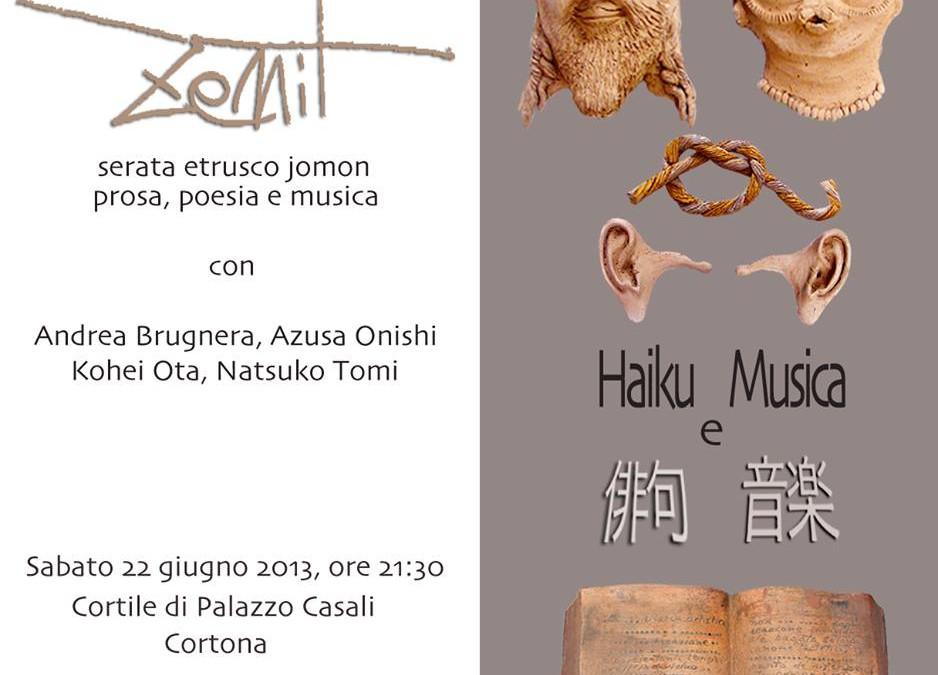 """""""Haiku e Musica"""" nel Cortile di Palazzo Casali"""