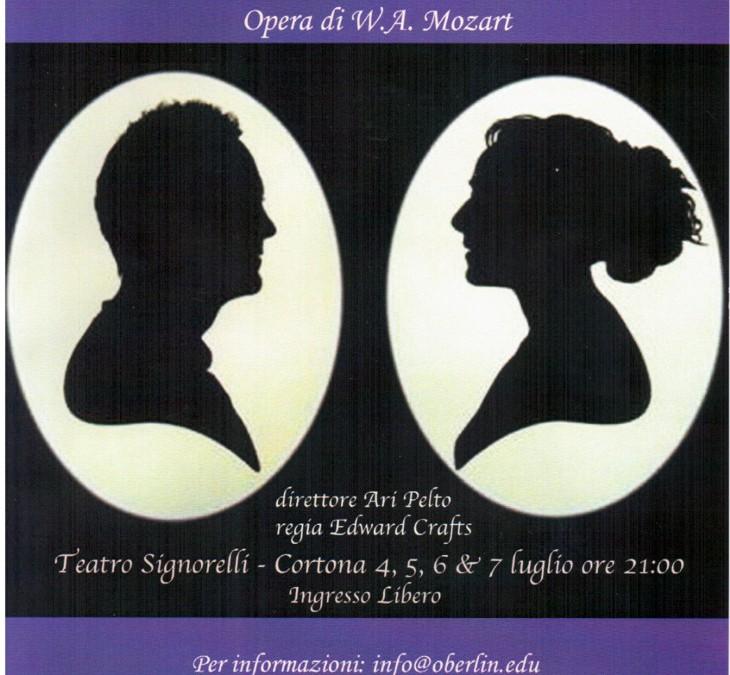 """Opera """"Così fan tutte"""" al Teatro Signorelli"""