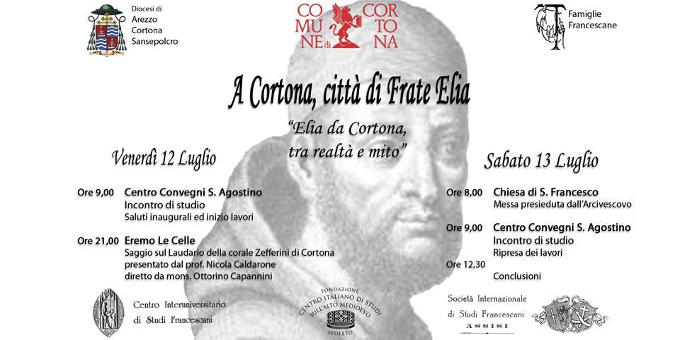 """Seminario """"Elia da Cortona, tra mito e realtà"""""""