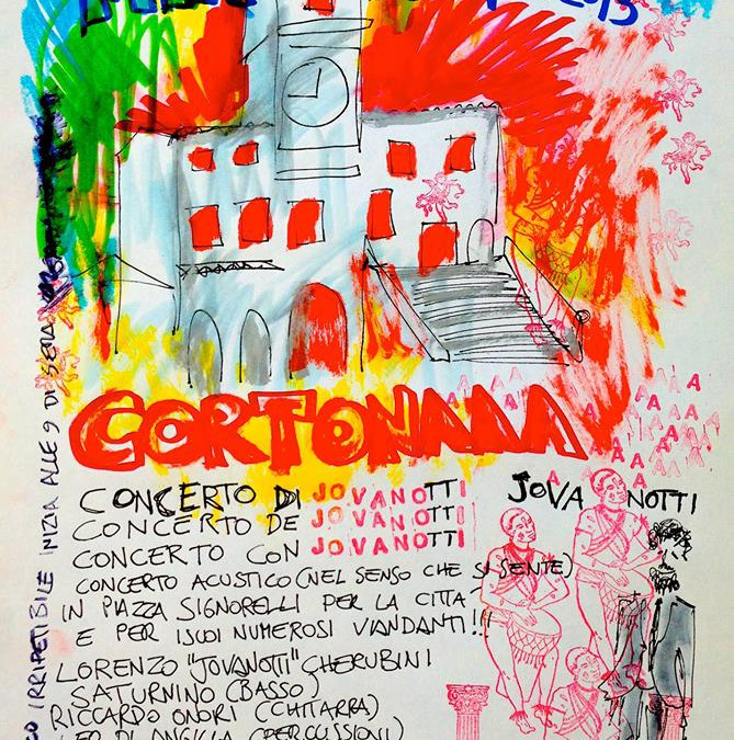 Jovanotti al Cortona Mix Festival 2013