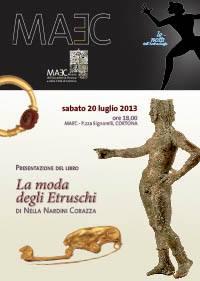 """Presentazione del libro """"La moda degli Etruschi"""""""