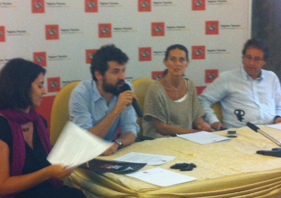 Presentazione del Festival Cortona On The Move a Firenze