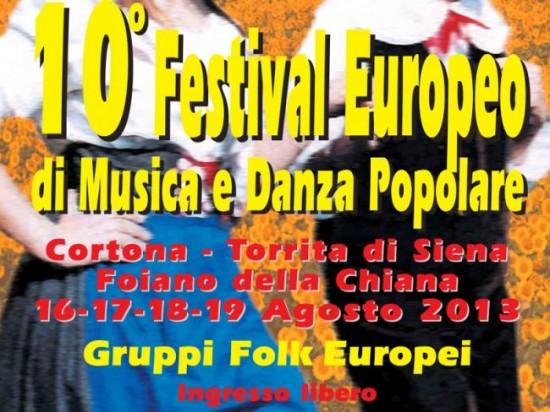 10° Festival Europeo di Musica e Danza Popolare.