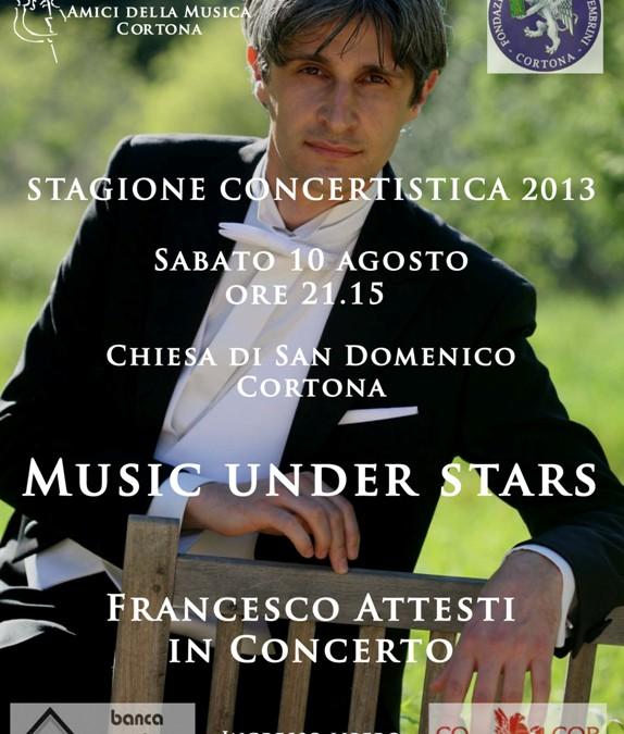 """Concerto """"Music under Stars"""" nella Chiesa di San Domenico"""