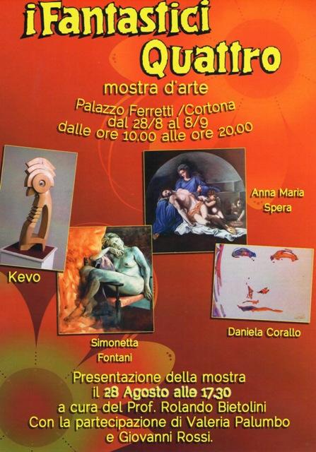 """Mostra """"I Fantastici Quattro"""" a Palazzo Ferretti"""