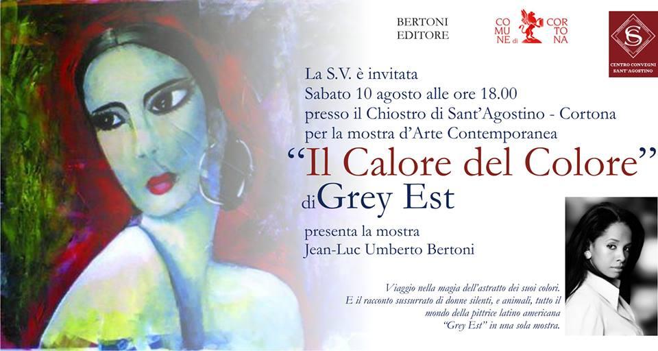 """Mostra """"Il Calore del Colore"""" al Chiostro di Sant'Agostino"""