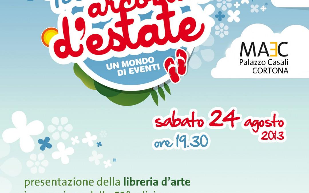 Presentazione della libreria d'arte al MAEC di Cortona