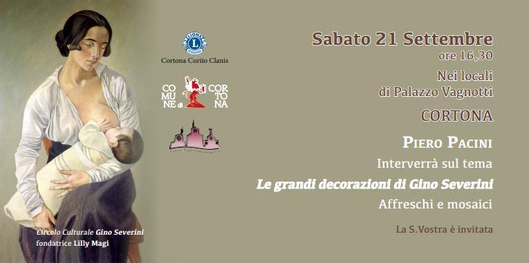 Conferenza su Gino Severini a Palazzo Vagnotti