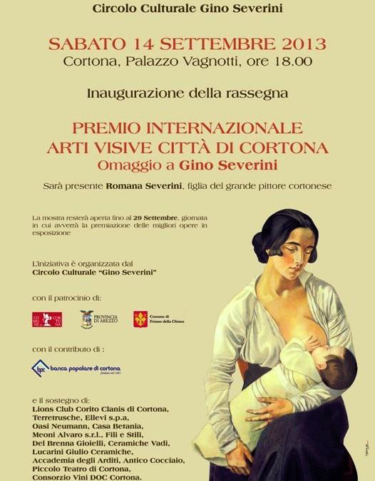 Inaugurazione del Premio Internazionale di Arti Visive