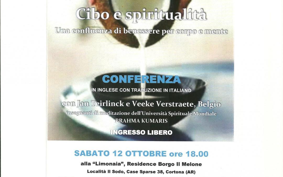"""Conferenza """"Cibo e spiritualità"""" al Residence Borgo Il Melone"""