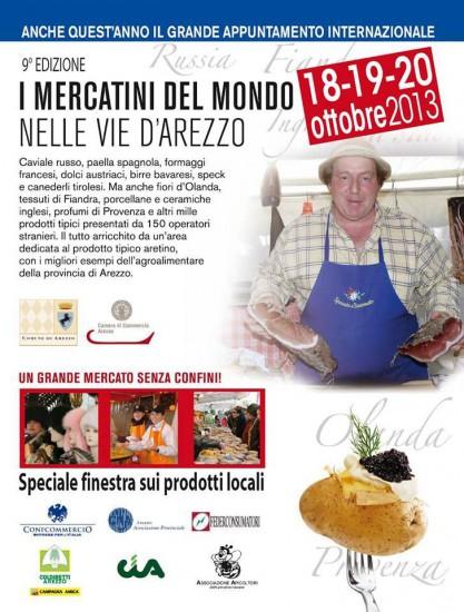 Mercatini del Mondo nelle Vie di Arezzo 2013