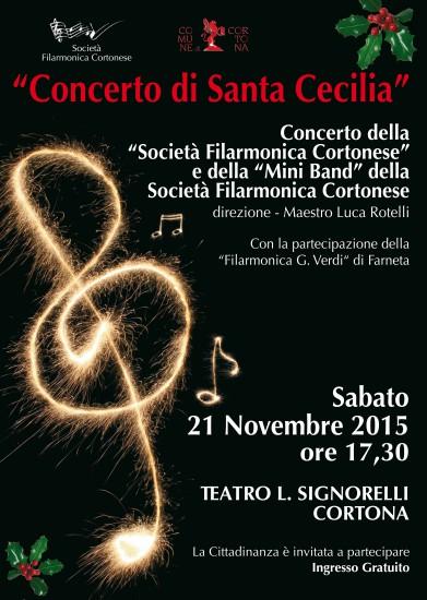 Concerto di Santa Cecilia a Cortona
