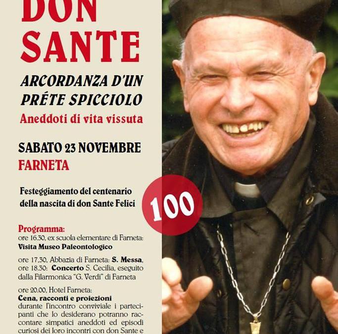 Giornata in ricordo di don Sante Felici