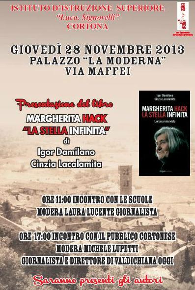 """Presentazione del libro """"Margherita Hack, la stella infinita"""""""